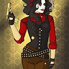 Western Steampunk by CatAstrophe