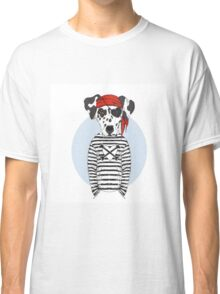 Pirate Dog Classic T-Shirt