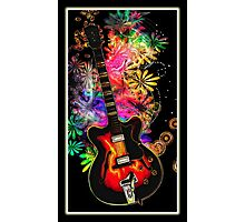 Guitar Moods Photographic Print