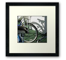 Shadow From My Past Framed Print