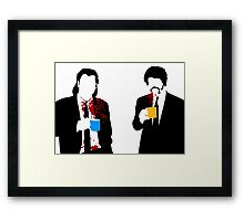 Gourmet Coffee Framed Print