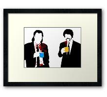 Gourmet Coffee Framed Print