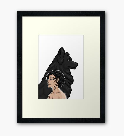Sirius and Padfoot Framed Print