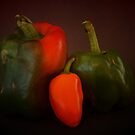 The Three Peppers by Stephen Thomas