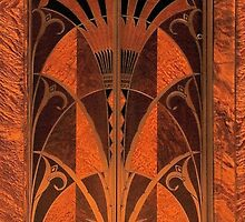 Doorway Style - Chrysler Building NY by Anthony Ogle