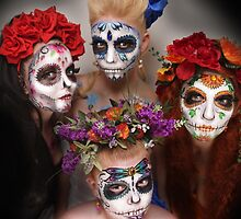 day of the dead- sugar skulls by chrissy carter