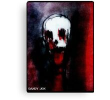 Of Red Death Canvas Print