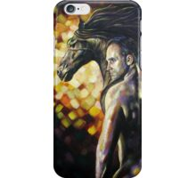 Man/Horsepower iPhone Case/Skin