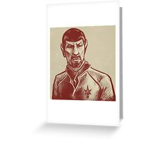 Mirror Spock Greeting Card