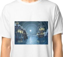Pirates Bay Landscape Fantasy Classic T-Shirt