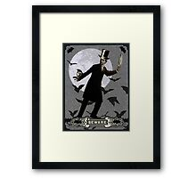 The Murderous Count Framed Print