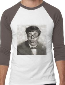Jerry Lewis, Actor and Comedian Men's Baseball ¾ T-Shirt