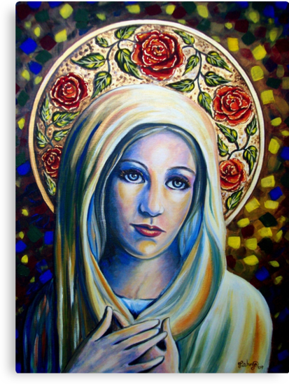 Holy Love of Mary by Tahnja