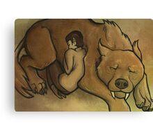 Spock and I-chaya Canvas Print