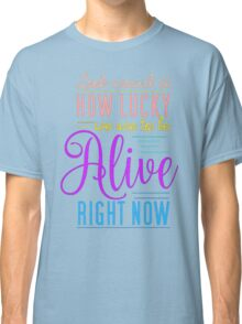 Hamilton Musical Quote Classic T-Shirt
