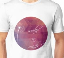 Make a wish - low poly Unisex T-Shirt