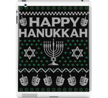Let's Get Lit Menora Candles Chanukah Hanukkah Shirt iPad Case/Skin