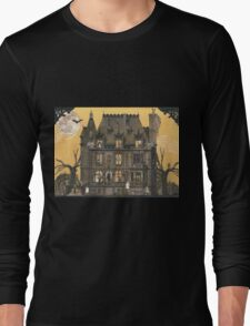 Moribund Manor - Haunted House Long Sleeve T-Shirt