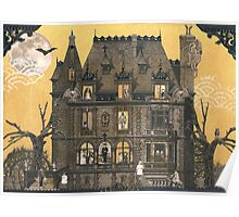 Moribund Manor - Haunted House Poster