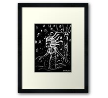 Death Rock Medusa Framed Print