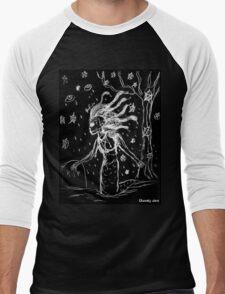 Death Rock Medusa Men's Baseball ¾ T-Shirt