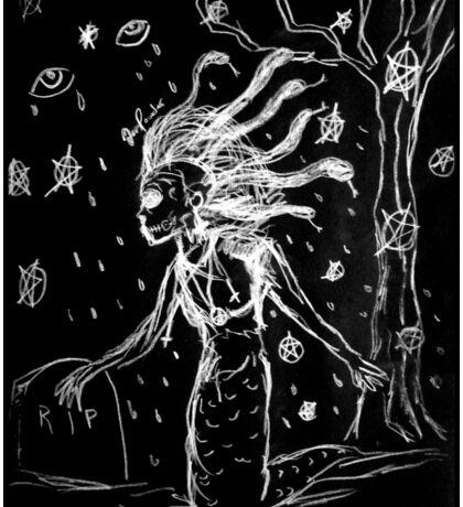 Death Rock Medusa Sticker