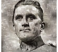 Kirk Douglas Hollywood Actor Photographic Print