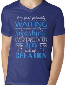Hamilton Musical Quote Mens V-Neck T-Shirt
