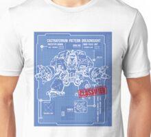 BLUEPRINT TEE - DREADNOUGHT 40K 1 Unisex T-Shirt