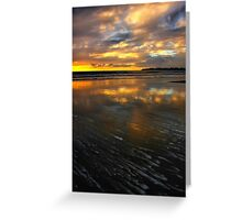 Sand Painting Greeting Card