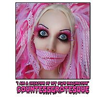 Pink Dolly   CountessGrotesque Photographic Print