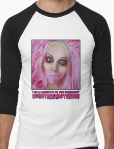 Pink Dolly | CountessGrotesque Men's Baseball ¾ T-Shirt