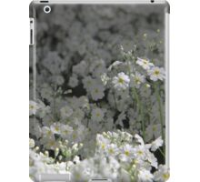 sea of white iPad Case/Skin