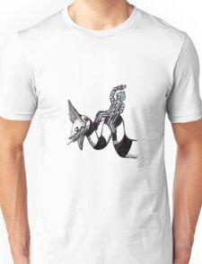 Beetljuice and the sandworm Unisex T-Shirt