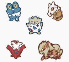 Pokémon / Sticker Set 3 by valione