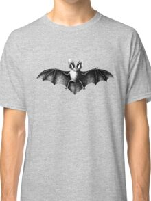 Vintage bat illustration Classic T-Shirt