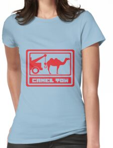 Camel Tow - Rude Womens Fitted T-Shirt