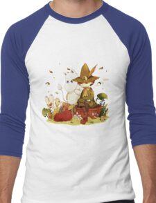Moomin and Snufkin Men's Baseball ¾ T-Shirt
