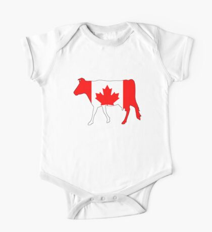 Canada Cow One Piece - Short Sleeve
