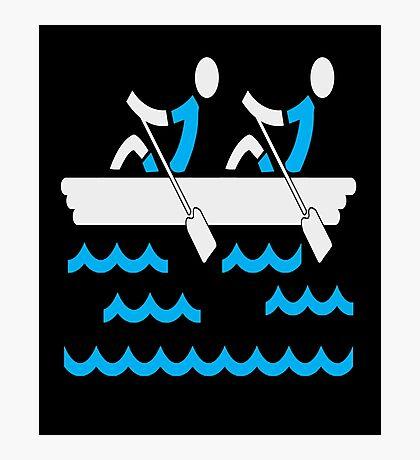 Rowing Boys Photographic Print