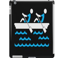 Rowing Boys iPad Case/Skin