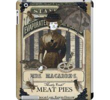 Mrs. Macabre's Meatpies iPad Case/Skin
