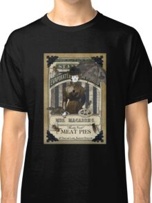 Mrs. Macabre's Meatpies Classic T-Shirt