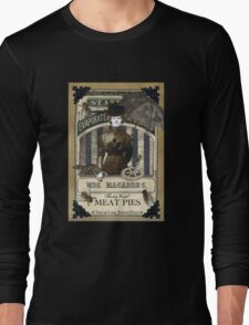 Mrs. Macabre's Meatpies Long Sleeve T-Shirt