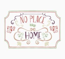 No Place Like Home - Simple Baby Tee
