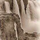 Iguaza Falls - No. 7 - Antique Sepia by photograham