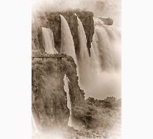 Iguaza Falls - No. 7 - Antique Sepia Unisex T-Shirt