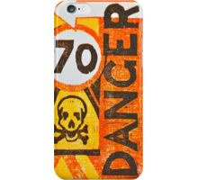 Sign Board iPhone Case/Skin