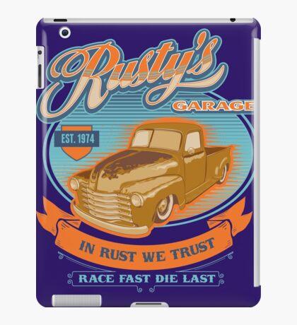 RUSTY GARAGE iPad Case/Skin