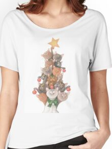 Cats christmas  Women's Relaxed Fit T-Shirt